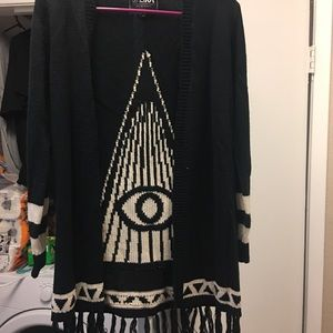 Sweaters - Evil eye cardigan
